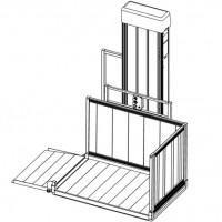 """PASSPORT Vertical Platform Lift 52"""" - 72"""""""