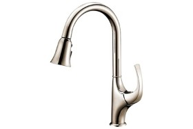 Single-Lever Pull-Out Kitchen Faucet