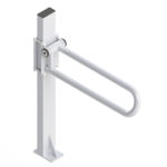 PT Rail Floor Mast, White