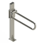 PT Rail Floor Mast, Stainless