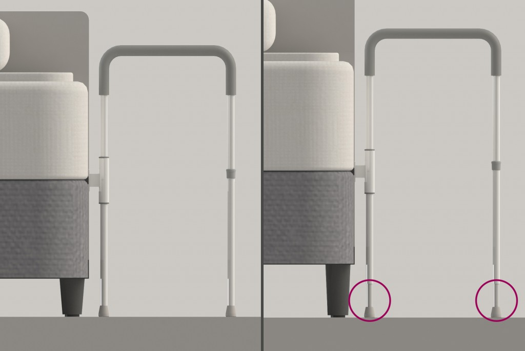 Smart-Rail Leg Extenders