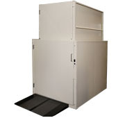 TOE GUARD COMMERCIAL PLATFORM LIFT