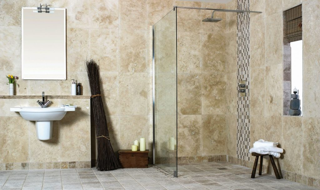 Contemporary-Curbless-Shower
