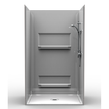Barrier Free Shower – Four piece 48×36