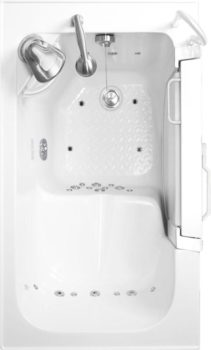 SanSpa OH 5129 Acrylic Out Swing Walk-In Tub