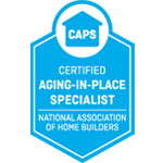 Accessible Homes Inc. is a Certified Age In Place Specialist
